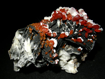 vanadinite sur goethite