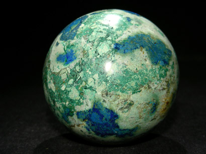 SPHERE AZURITE MALACHITE