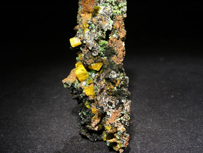 WULFENITE SMITHSONITE VERTE